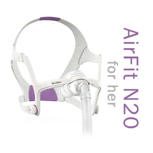 Airfit N20 For Her Nasal Mask With Headgear