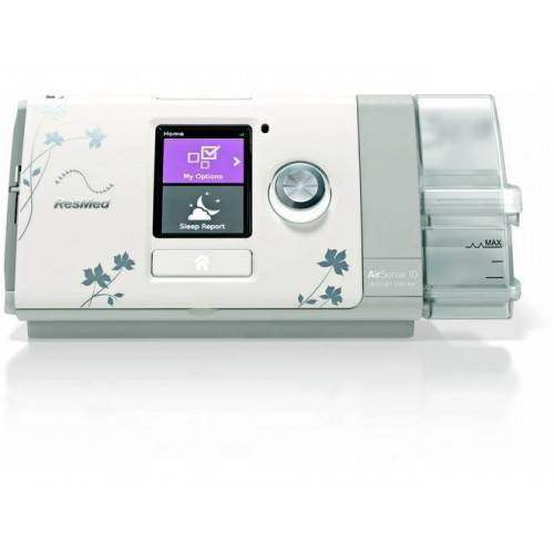 airsense 10 autoset cpap machine with humidair heated humidifier