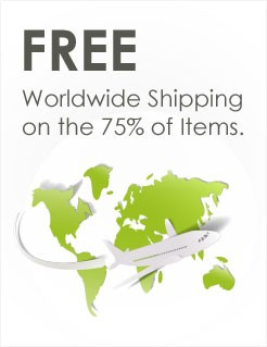 Free Shipping on 75% of Items